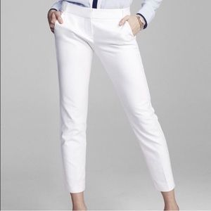 Express Columnist White Ankle Pant Size 8 NWT